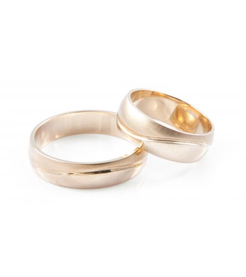 Obrączki złote ślubne [OB-007]